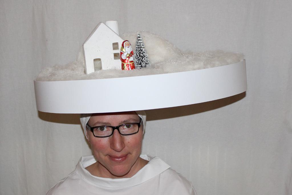 Weihnachtsmanns Winterhaus